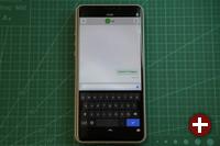 Librem 5 Chat Screen