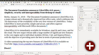 LibreOffice 6.0 Writer