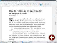 LibreOffice ohne deutsche Anpassung