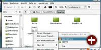 Linux-Client von Sparkleshare