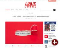Linux Journal schließt die Pforten