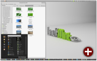 Linux Mint 12 mit Gnome Shell Extensions