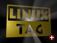 Gerendertes Logo des LinuxTag