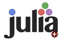 Logo der Programmiersprache Julia