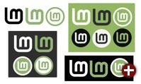 Logo-Entwürfe für Linux Mint