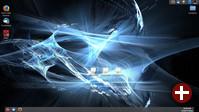 Lumina-Desktop, hier noch ohne Compositing