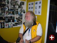 Wenig Linux-Prominenz: Jon »maddog« Hall