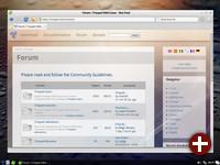 LXDE-Desktop von Trisquel 8.0