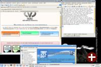 m23 13.2: Installiertes Debian mit Trinity-Desktop