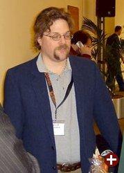 Marcus Ranum nach dem Vortrag