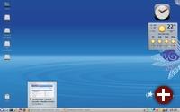 Defaultdesktop von Mandriva 2009.1