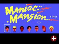 Maniac Mansion unter ScummVM