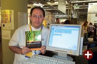 Marc Delisle aus Kanada, einer der Autoren von phpMyAdmin