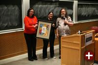 Marina Zhurakhinskaya, Karen Sandler und Richard Stallman