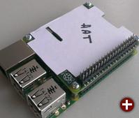Mit HATs soll der RPi B+ Erweiterungsboards automatisch erkennen