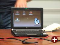 In fünf Sekunden hochgefahren: Eee PC mit Moblin