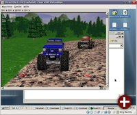 Monster Truck Madness unter ReactOS