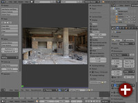Movie Clip Editor in Blender 2.61