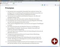 Mozilla-Manifest 0.9 (alte Fassung)