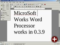 MS Works 8.5 unter ReactOS
