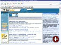 Anti-Linux-Werbung auf LinuxToday
