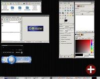 Simplix mit Multimedia-Anwendungen