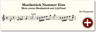 Beispiel 5: Musikstück mit Artikulation