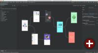 Navigationseditor von Android Studio 3.3