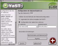 IRQ-Konflikte ade: Einrichtung von Netzwerkkarten ist dank Yast2 unproblematisch