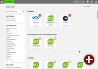 Neues App-Vorschlagssystem im Univention App Center