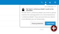 Nextcloud Ransomware Protection App