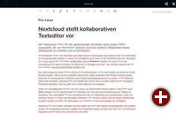 Nextcloud Text