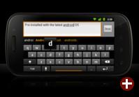 Nexus S mit Android 2.3 »Gingerbread«
