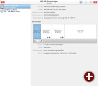 Die Oberfläche von Gnome-Disks ist an die Konventionen des Gnome 3.x-Desktops angelehnt