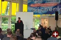 Offizielle Eröffnung durch die Staatssekretärin Frau Zypries im Forum