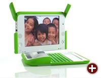Linux auf dem ersten OLPC-Prototyp