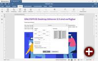 Onlyoffice Desktop Editoren 5.5