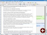 Die Notizfunktion in Writer