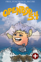 OpenBSD 5.4 Poster