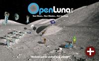 OpenLuna Außenposten auf dem Mond