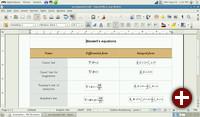 OpenOffice Writer in gNewSense 3