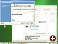 Installation von weiteren Anwendungen mittels 1-Click-Install