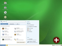 GNOME unter openSuse 10.3 mit neuem Startmenü