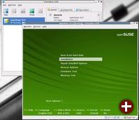 openSuse 10.3-Installation in VirtualBox unter openSuse