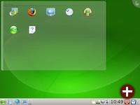 KDE 4.1 unter OpenSuse 11.1 Alpha1