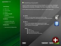 Desktopwahl unter OpenSuse 11.1