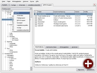 Veränderte Softwareinstallation