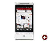 Android auf einem HTC-Gerät