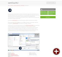 OwnCloud im App Center