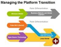 Plattformwechsel bei Palm